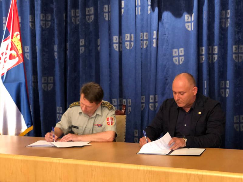Социјално одговорна установа брине о деци припадника војске Србије